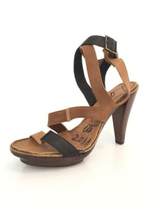 Lanvin Brown/Black Sandals