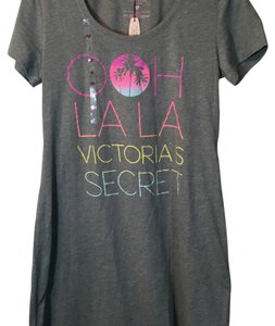 Victoria's Secret short dress Gray Sleepwear Short Night Sleep on Tradesy