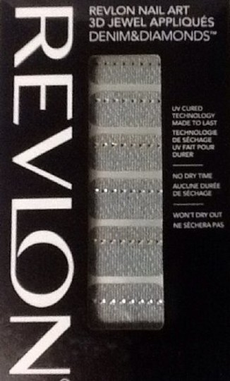 Other Revlon Nail Art 3D Jewel Appliques Denim & Diamonds Collection 03 Stud Struck