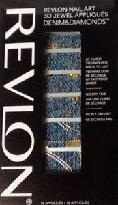 Other Revlon Nail Art 3D Jewel Appliques Denim & Diamonds Collection 02 It's Riveting