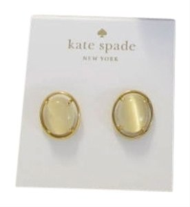 Kate Spade KATE SPADE New York Open Rim Stud Earrings Style #: WBRUB742 Authentic