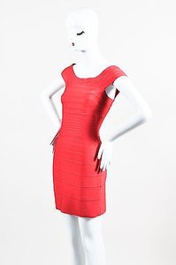 Hervé Leger Herve Stretch Knit Dress