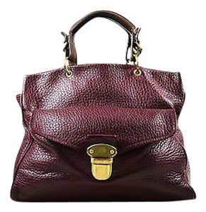 Mulberry Bordeaux Gold Shoulder Bag