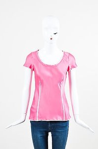 Saint Laurent Ysl Yves Top Pink