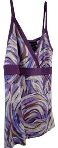 INC International Concepts V-neck Large Top Purple