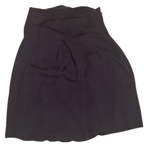 Silence + Noise Skirt Navy blue
