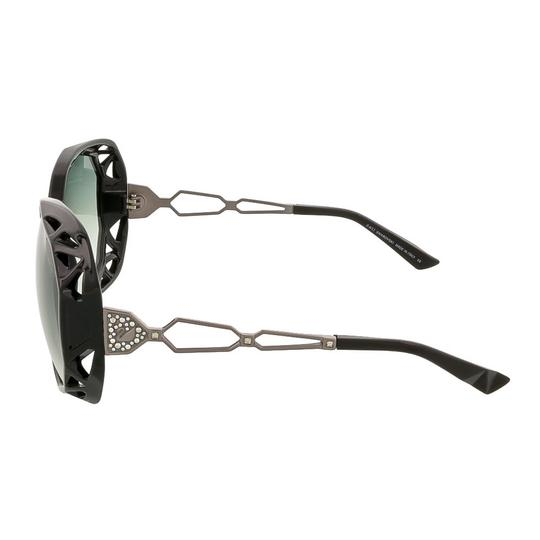 Swarovski Swarovski Black Oversized Sunglasses