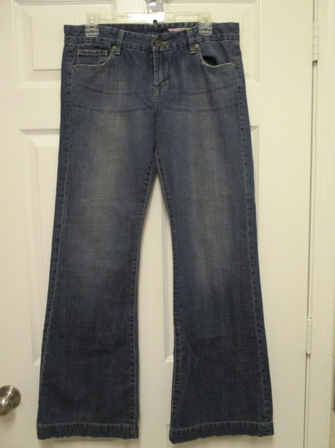 Buffalo David Bitton Size 31 Juniors 11/12 Never Worn Flare Leg Jeans-Medium Wash