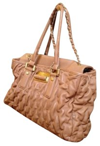 Ivanka Trump Satchel in Light Brown, Caramel