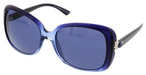 Swarovski Swarovski Blue Gradient Square Sunglasses