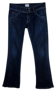 Hudson Jeans Flap Pocket Boot Cut Jeans-Dark Rinse