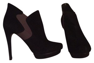Bakers Black suede Platforms