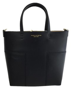 Tory Burch Block Tote in Black