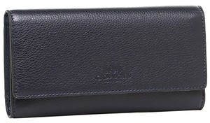Coach Coach Pebbled Leather Trifold Wallet