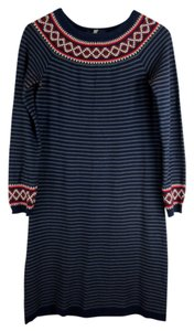 Hanna Andersson short dress Blue, red on Tradesy