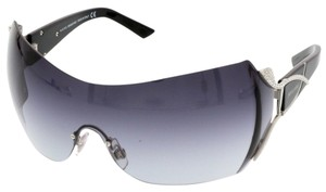 Swarovski Swarovski Black/Silver Mask/Shield Sunglasses