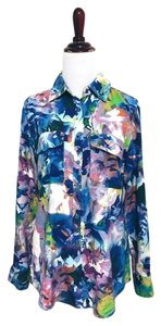 Nexx Work Floral Multi Color Button Down Shirt