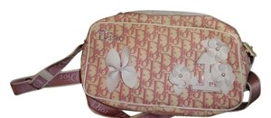 Dior Christiandior Flower Pink Shoulder Bag