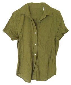 Banana Republic Button Down Shirt Moss