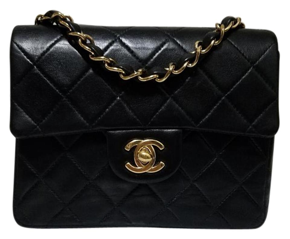 f64a81c2 Chanel Quilted Lambskin Classic Vintage Cross Body Bag Image 0 ...