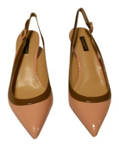Dolce&Gabbana Elegant Design Blush Pink/Brown Pumps