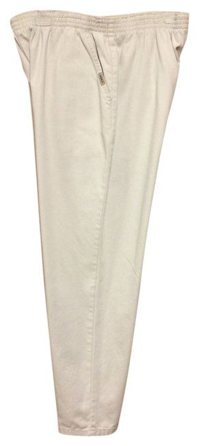"Item - Khaki Women's - Elastic Waist Inseam 29"" - Average Straight Leg Jeans Size 35 (14, L)"