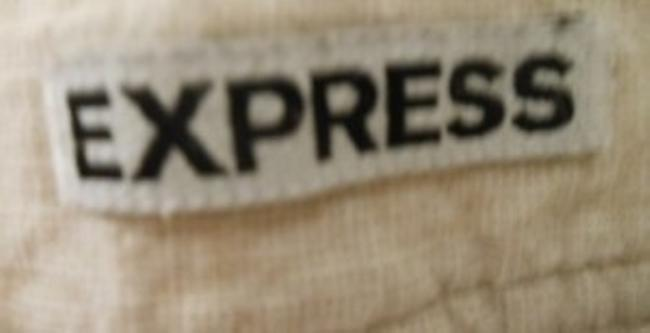 Express Dress Shorts Tan