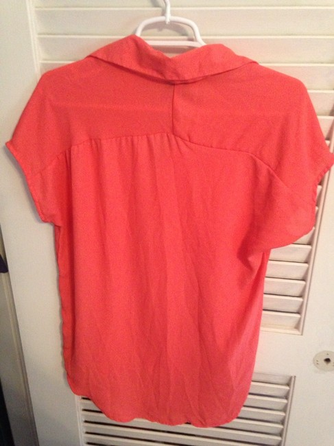 Mossimo Supply Co. T Shirt Peachy Orange