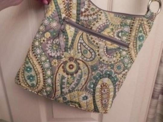 Vera Bradley Hipster Pattern: Lemon Parfait Cross Body Bag