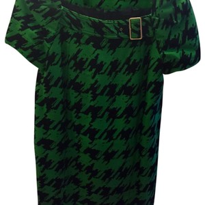 Marc Jacobs short dress Green/Black on Tradesy
