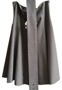 Tulle Skirt Grey with white pinstripe