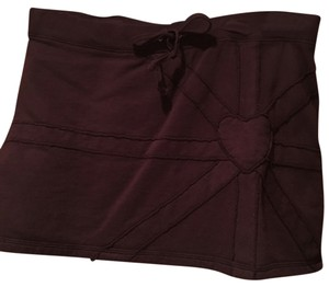 Juicy Couture Mini Skirt Maroon