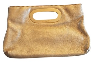 Michael Kors Hardware Gold Clutch