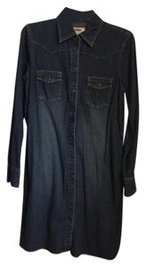 Old Navy short dress Blue jean on Tradesy