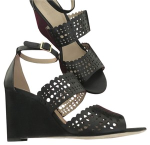 Tory Burch Comes With Box Black Wedges