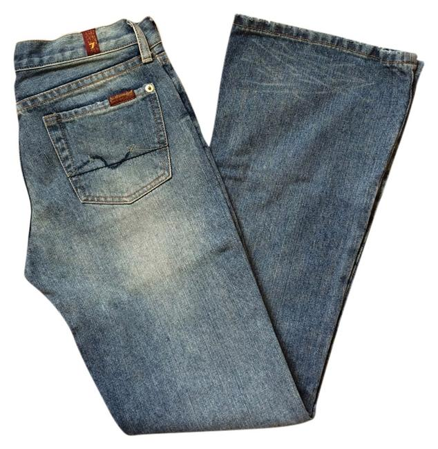 Preload https://item1.tradesy.com/images/7-for-all-mankind-light-wash-classic-flare-leg-jeans-size-26-2-xs-1500885-0-0.jpg?width=400&height=650