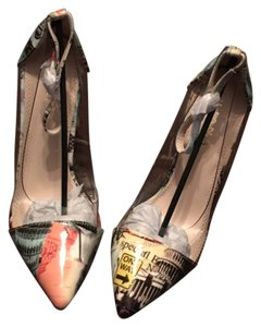 Shoe Republic LA City Multi Color Pumps