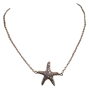 Other Micro Pave CZ Starfish Anklet Sterling Silver