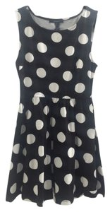 Forever 21 short dress Black/White on Tradesy