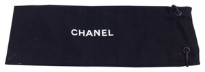 Chanel Chanel #6145 drawstring Dust Pouch small long 8.5x3 Tote Bag