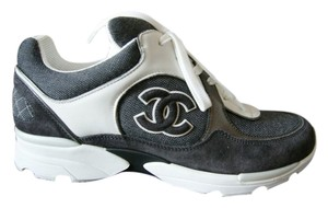 Chanel Sneakers Grey Athletic