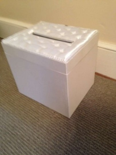Michaels Ivory Card/Money Box Reception Decoration