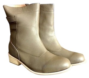 Fiel Taupe Leather Boots