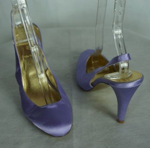 J.Crew J Crew Heels Cate Silk Satin Purple Pumps