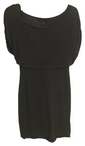 Kenneth Cole short dress Dark grey on Tradesy