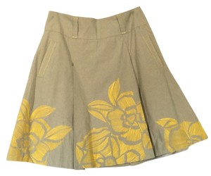 Floreat Skirt Grey yellow