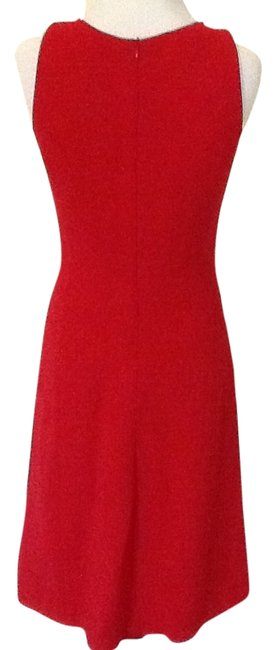 Item - Red Collection Knee Length Cocktail Dress Size 4 (S)