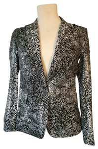 Kelly Wearstler Modern Black and White Blazer