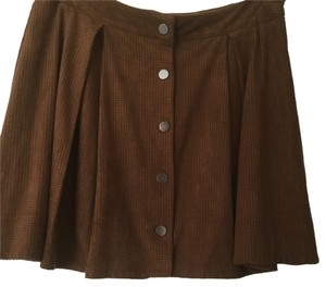 Zara Skirt Light. brown
