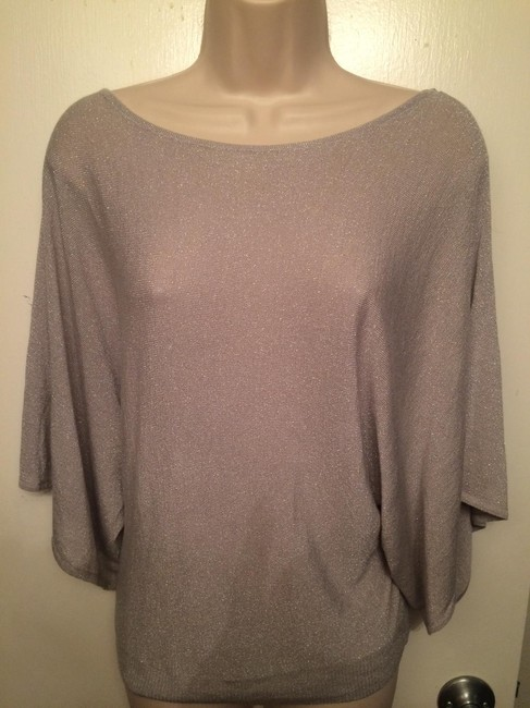 INC International Concepts Lame Batwing Sweater